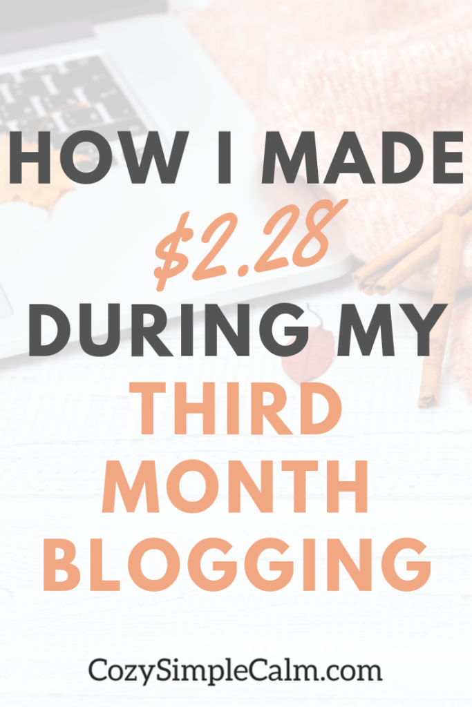 September 2019 Traffic & income report - My third month blogging
