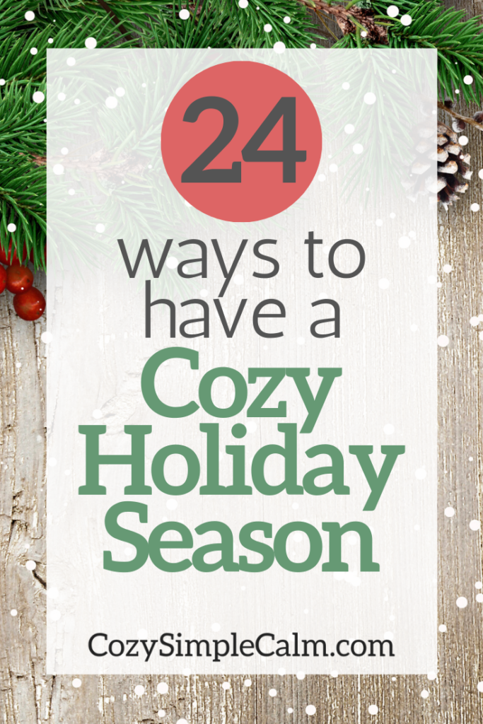 ways to have a cozy christmas