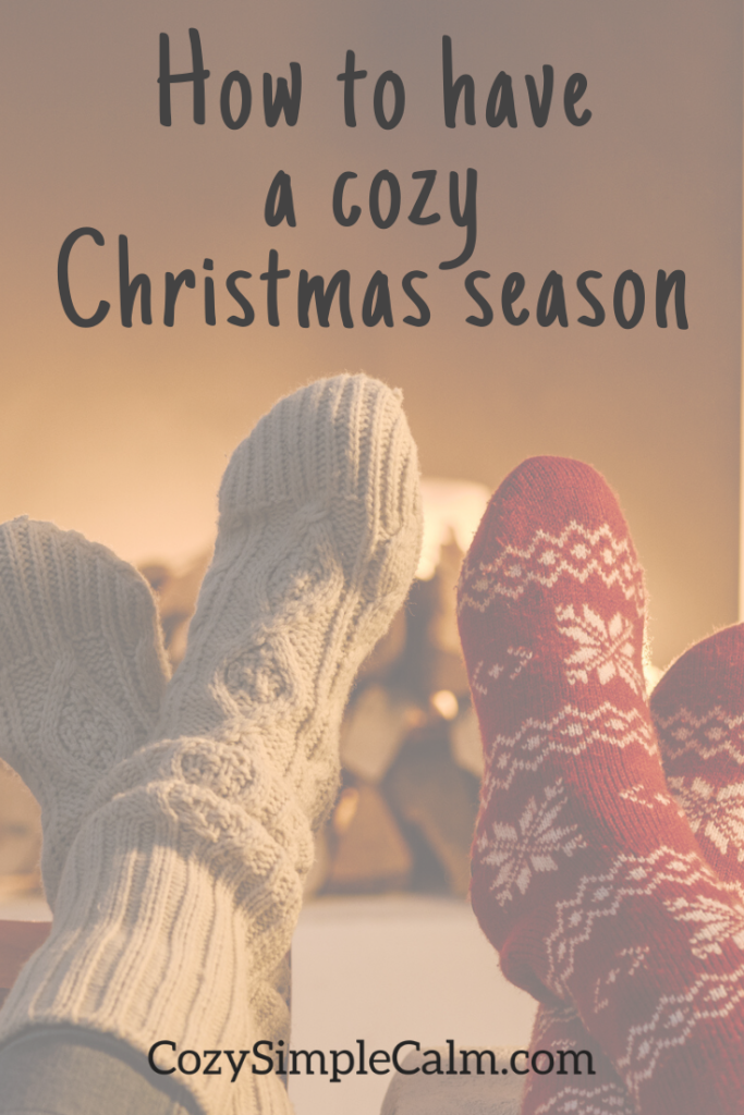 how to have a cozy holiday season