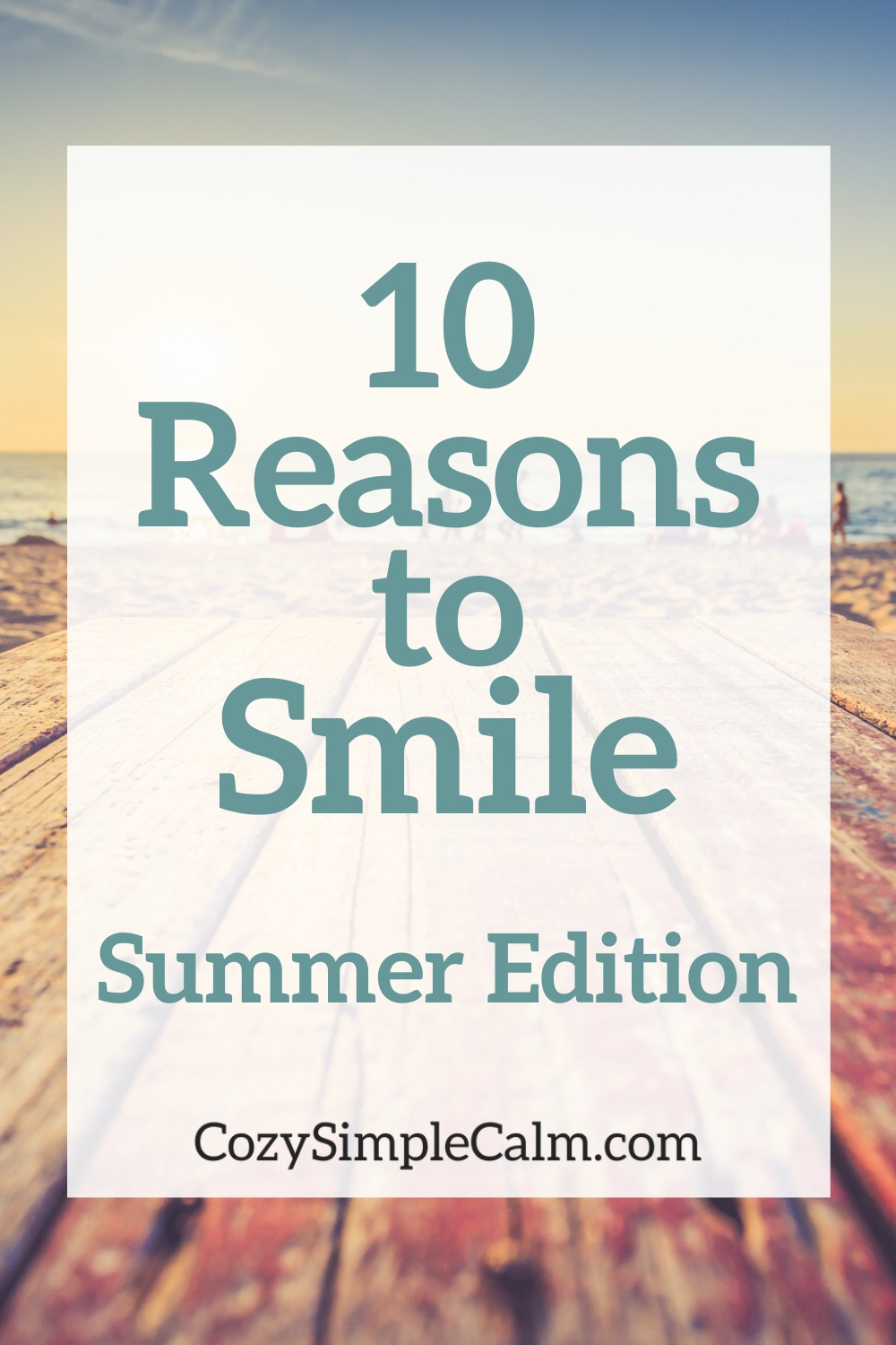 things to smile about
