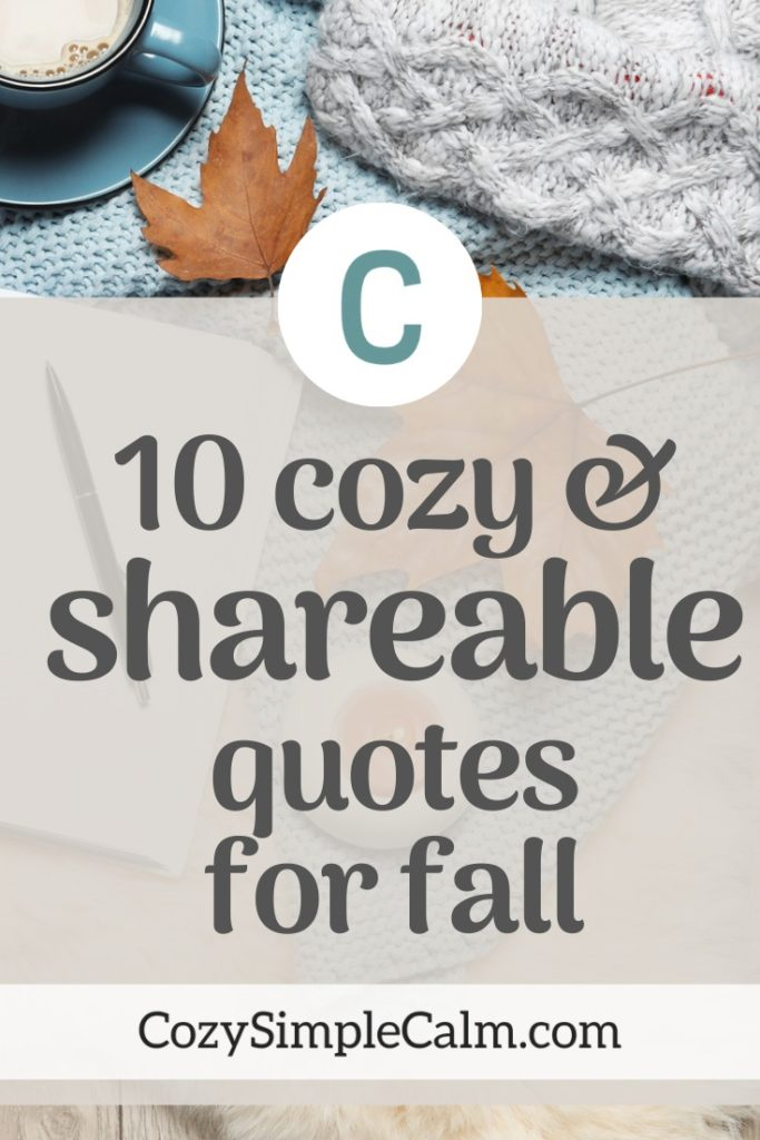quotes for fall