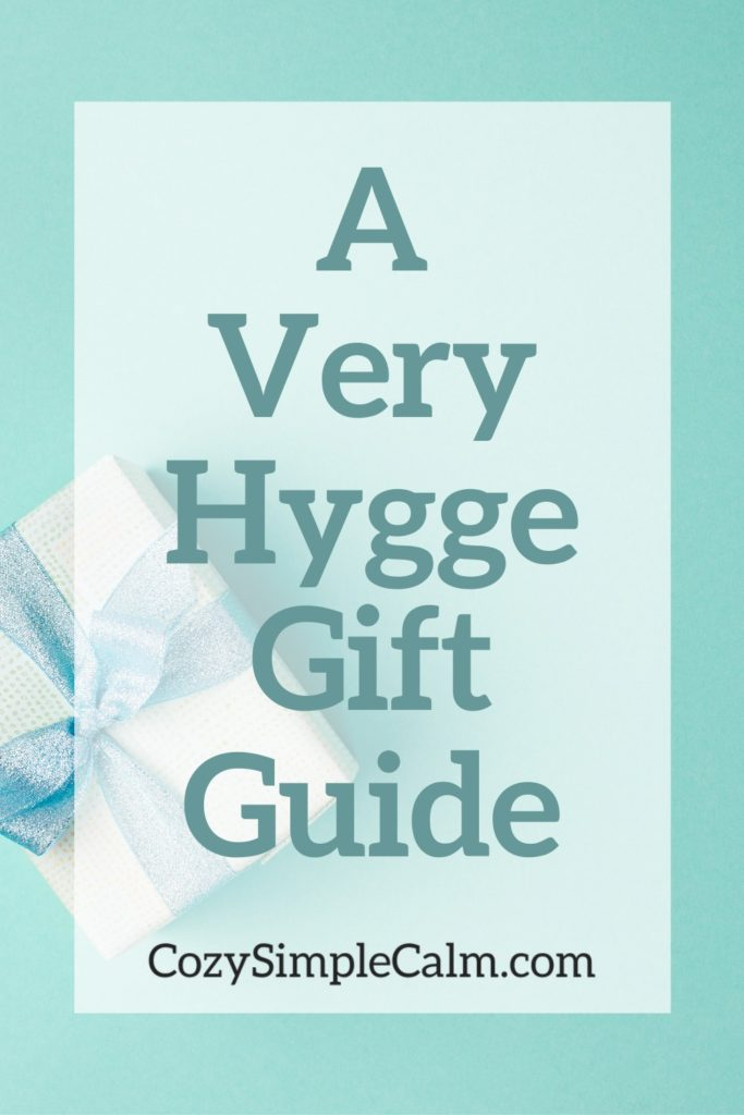 A Very Hygge Gift Guide - Pinterest image