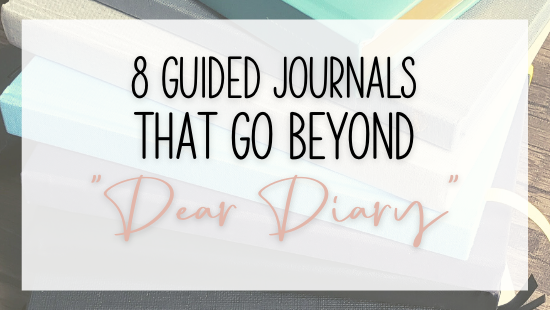 """8 guided journals that go beyond """"Dear Diary"""""""